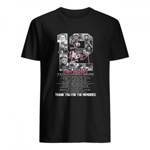 12 Tom brady new england patriots 2000-2020 signature thank you for the memories  Classic Men's T-shirt