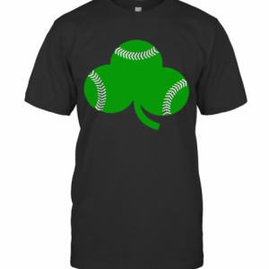 Baseball St Patrick'S Day Shamrock Irish Baseball T-Shirt Classic Men's T-shirt