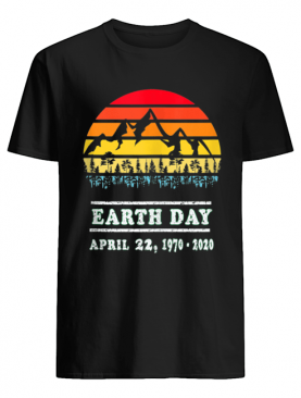 Earth Day April 22, 19702020 Vintage 50th Earth day shirt