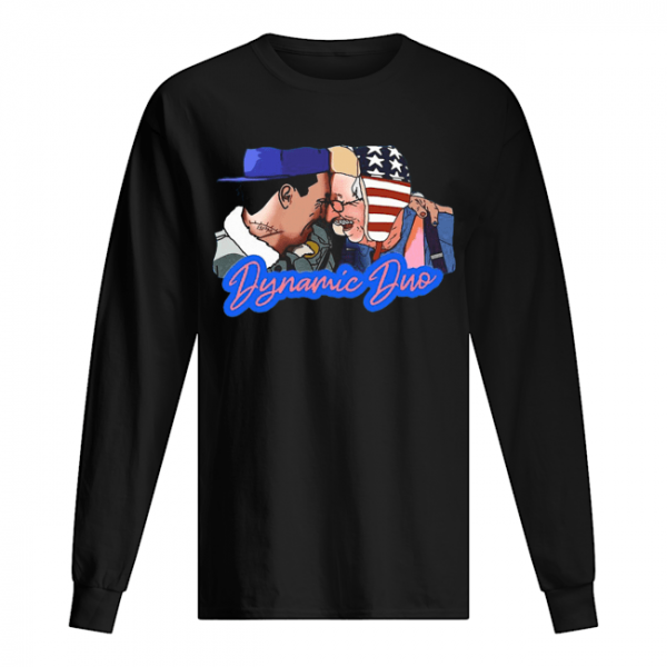 Justin Spencer And Roy Small Dynamic Duo  Long Sleeved T-shirt