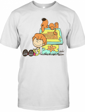 The Mystery Machine Charlie Brown And Snoopy T-Shirt