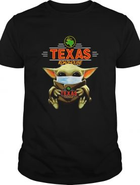 Baby Yoda Face Mask Hug Texas Roadhouse shirt