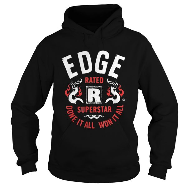 EDGE rates superstar dove it all won it all  Hoodie