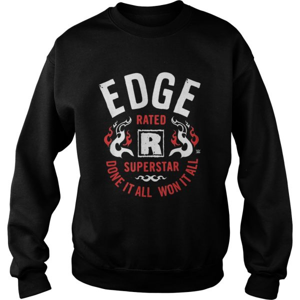 EDGE rates superstar dove it all won it all  Sweatshirt