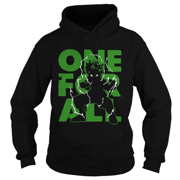 One For All 2020 My Hero Academia  Hoodie