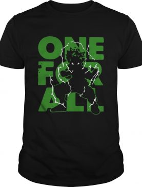 One For All 2020 My Hero Academia shirt