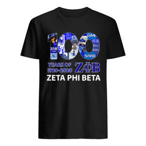 100 Years Of 1920 ZOB Zeta Phi Beta  Classic Men's T-shirt