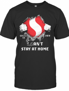 Covid 19 2020 I Can'T Stay At Home Hand T-Shirt