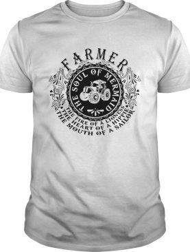 Farmer The Soul Of Mermaid The Fire Of A Lioness shirt