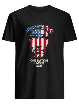 Independence Day Jesus one nation under god shirt
