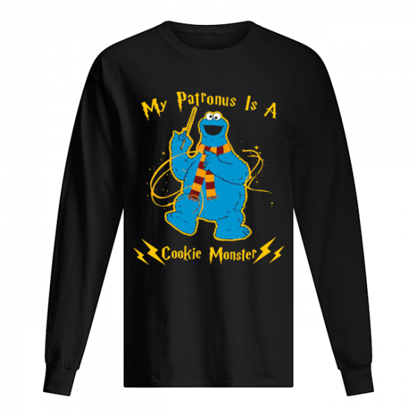My Patronus Is A Cookie Monster  Long Sleeved T-shirt