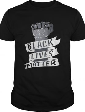 Black lives matter hand shirt