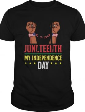 Juneteenth june 19th independence day stars shirt