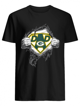 Superhero Green Bay Packers Father's Day shirt