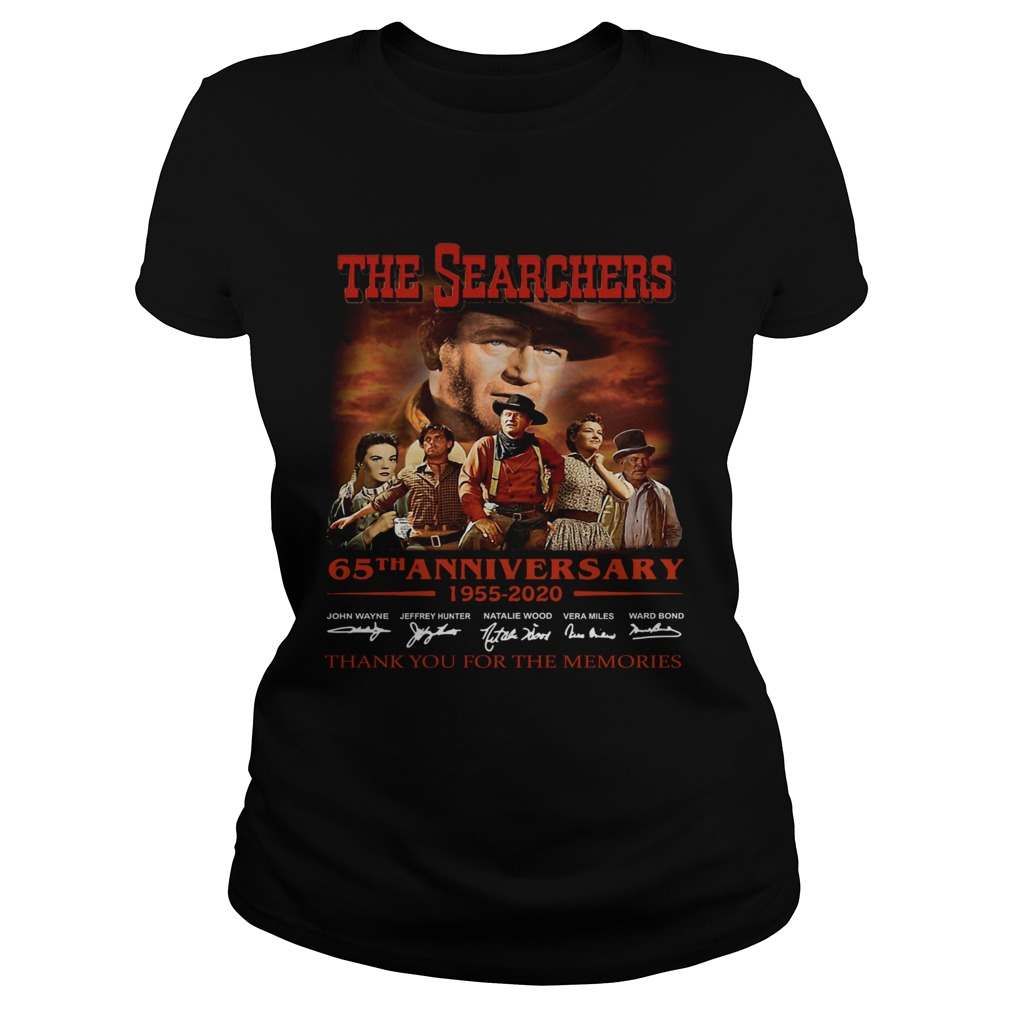 The Searchers 65th Anniversary 1955 2020 Signature Thank You For The Memories Classic Ladies