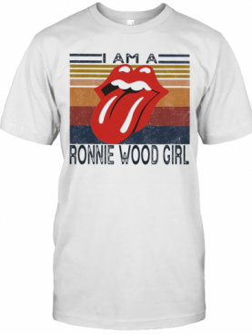 I Am A Ronne Girl Vintage Retro T-Shirt