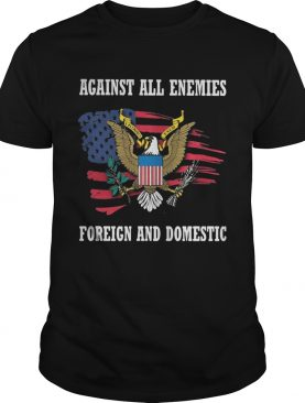 Office of management and budget against all enemies foreign and domestic american flag independence