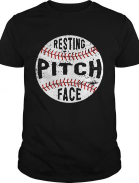 Baseball Resting pitch face shirt