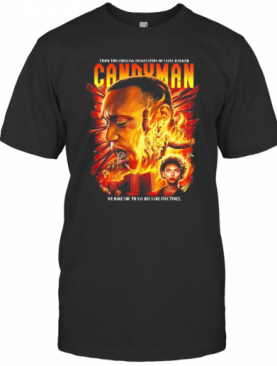 Candyman Fire Movie Poster T-Shirt