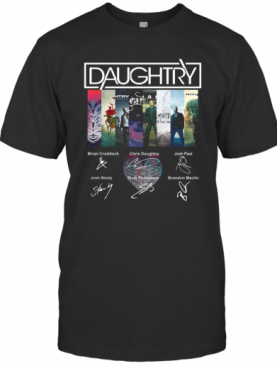 Daughtry Album Signature T-Shirt