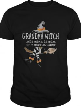 Grandma witch like a normal grandma only more awesome shirt