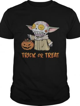 Halloween sugar skill trick or treat pumpkins shirt