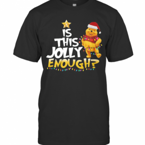 Merry Christmas Pooh Is This Jolly Enough T-Shirt Classic Men's T-shirt