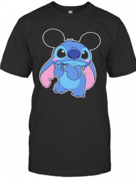 Mickey Mouse With Stitch T-Shirt