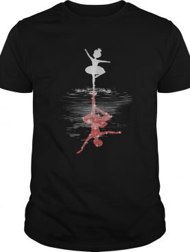 Ballet Girl Mirrow Water shirt