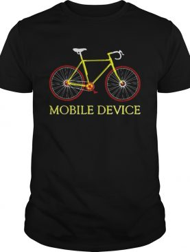 Bicycle Mobile Device shirt