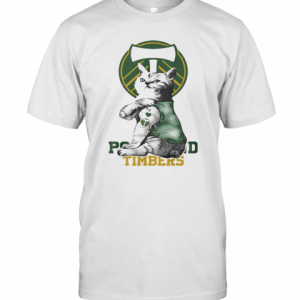 Cat Tattoos Portland Timbers Logo T-Shirt Classic Men's T-shirt