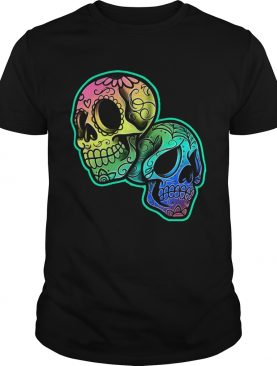 Day Of The Dead Skulls Mexican Holiday shirt