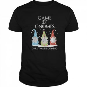 Game Of Gnomes Christmas Is Coming Three Gnomes Xmas  Classic Men's T-shirt
