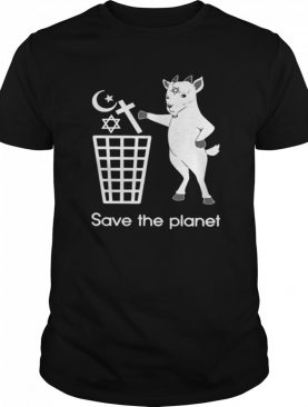 Goat Satan Save The Planet shirt