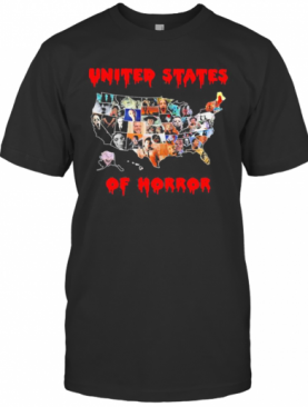 Halloween United States Of Horror T-Shirt