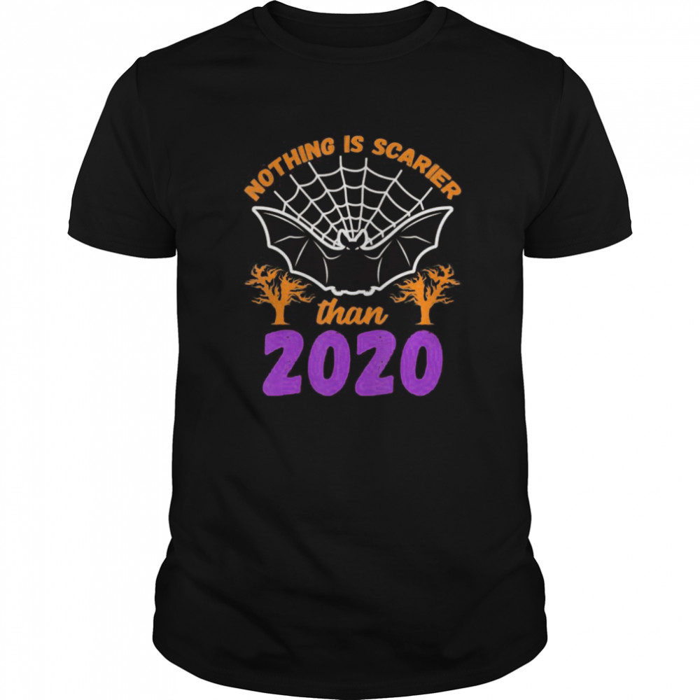 Nothing Is Scarier Than 2020 Halloween Bat  Classic Men's T-shirt