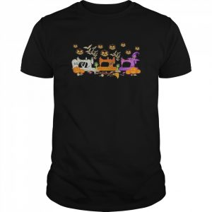 Quilting Sewing Halloween  Classic Men's T-shirt