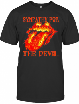 Rolling Stone Sympathy For The Devil Fire T-Shirt
