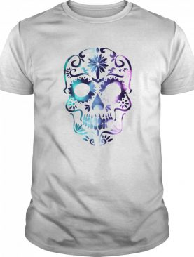 Skull Color Day Of The Dead Muertos shirt