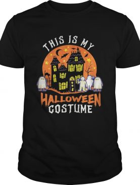 This Is My Halloween Costume Boo Ghost shirt