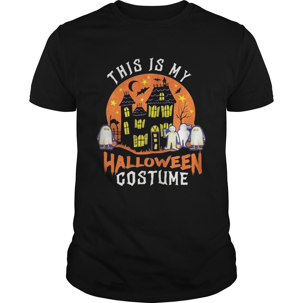 This Is My Halloween Costume Boo Ghost  Unisex