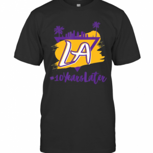 10 Years Later LA T-Shirt Classic Men's T-shirt
