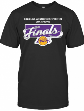 2020 Nba Western Conference Champions Finals Los Angeles T-Shirt