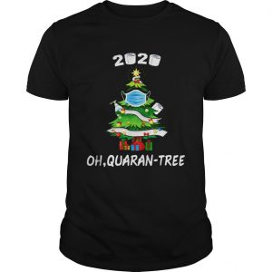 2020Quarantine Christmas Tree Mask Ornament  Unisex