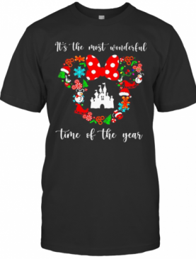 Mickey Disney It'S The Most Wonderful Time Of The Year T-Shirt
