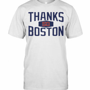 Mookie Betts Thanks Boston 2020 T-Shirt Classic Men's T-shirt