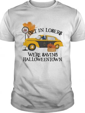 Original Benny Taxi Driver Get In Losers Were Saving Halloweentown shirt