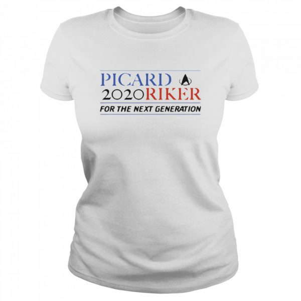 Picard 2020 Riker For The Next Generation  Classic Women's T-shirt
