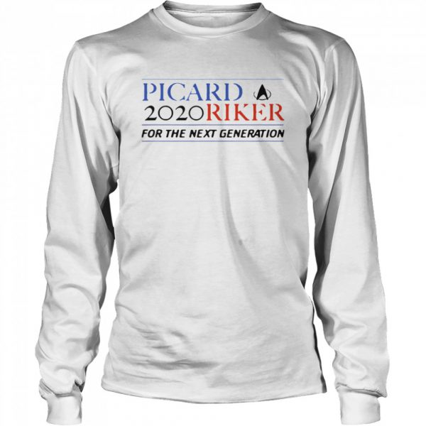 Picard 2020 Riker For The Next Generation  Long Sleeved T-shirt