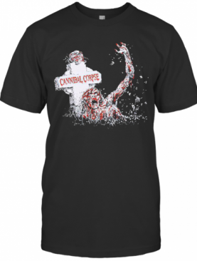 Top Scary Cannibal Corpse T-Shirt